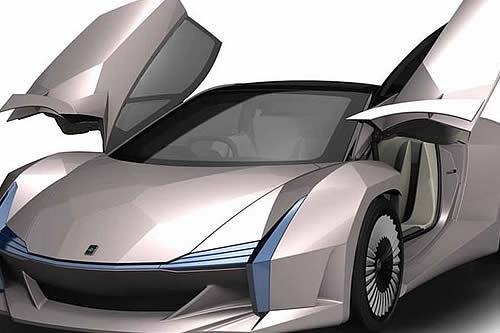 Científicos japoneses construyen un auto deportivo con fibra de madera y desechos agrícolas