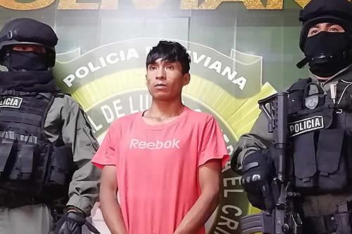 Aprehenden en Cochabamba a joven sindicado de violación en Guanay