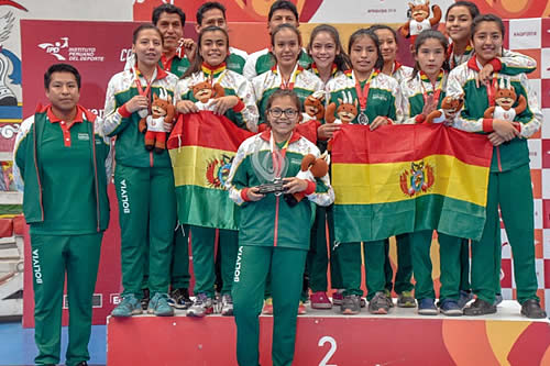 Equipo de Bolivia está listo para competir en los Juegos Sudamericanos Escolares en Asunción este año
