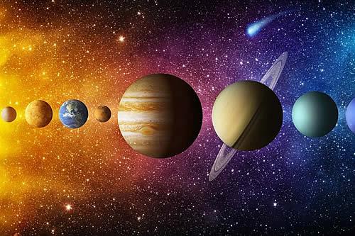 Una animación muestra cómo giran realmente los planetas del Sistema Solar