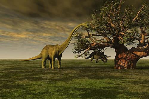 Muestran cómo los dinosaurios vivieron 'en el otro lado de la galaxia'