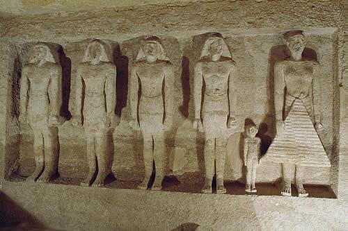 Egipto abre al público las tumbas de dos altos funcionarios del Imperio Antiguo