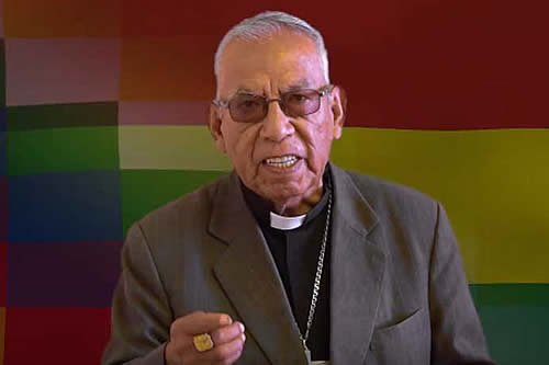 """Cardenal Ticona exhorta a pacificar: """"Jesús nos ha dicho perdonen"""""""