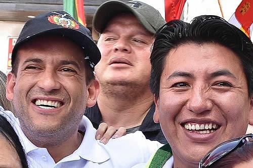 Pumari abre la posibilidad de acompañar a Camacho en las elecciones nacionales