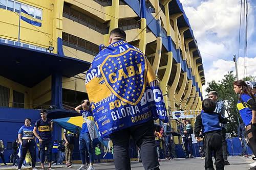 La Boca se viste de fiesta con la ilusión de dar vuelta la historia frente a River Plate