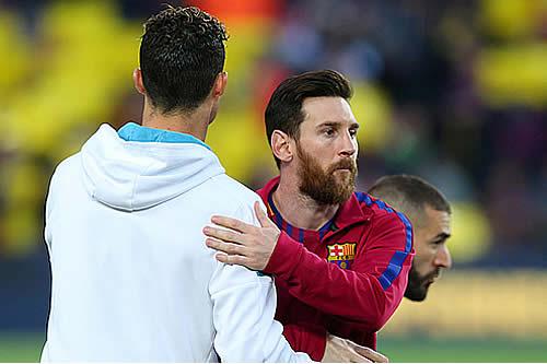 """Messi afirma que el Real Madrid perdió mucho con la salida de un """"depredador"""" como Cristiano Ronaldo"""