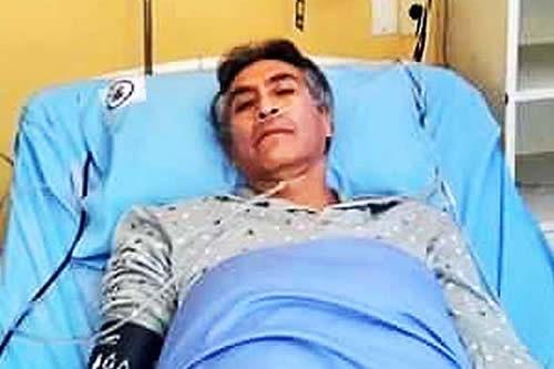 """Defensa de Torrico señala que es un paciente """"crítico con alto riesgo"""""""