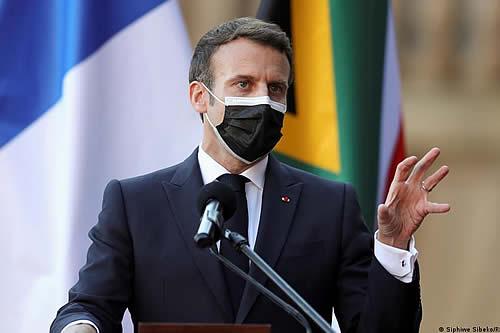 Cuatro meses de prisión por abofetear a Emmanuel Macron