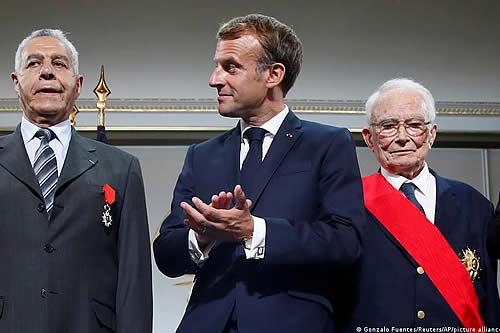 Macron pide perdón a los harkis, a 60 años de la guerra de Argelia