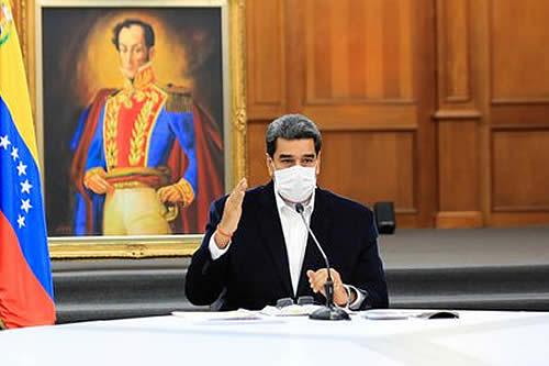 """Maduro tilda de """"guerra geopolítica"""" la monopolización de vacunas anticovid"""