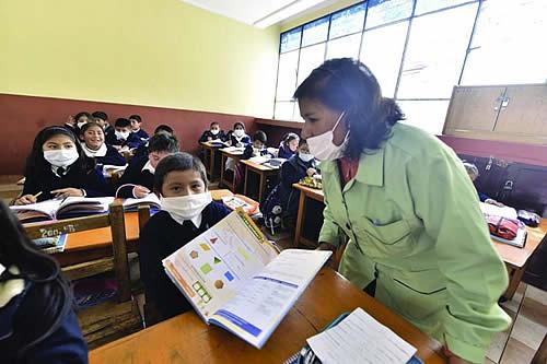 Piden a gobiernos regionales cumplir su función ante un posible retorno a clases semipresenciales y presenciales en La Paz