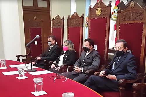 Gobierno amenaza con juicio de responsabilidades al presidente del TSJ por la posesión de vocales