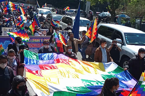 """Presidente de Diputados: """"Wiphalazo"""" reivindicará la unidad e identidad del pueblo boliviano"""