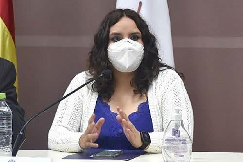 Viceministra Castro afirma que 'ya estaríamos entrando a una meseta' de contagios