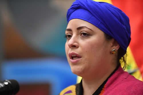 Ministra de la Presidencia denuncia ante el ALBA-TCP que el golpe de Estado afectó la lucha por la despatriarcalización