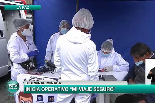 """Viceministerio de Seguridad Ciudadana inicia el operativo """"Mi viaje seguro"""""""
