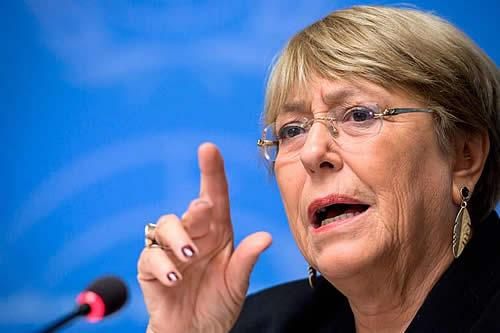 Alta Comisionada de ONU pide liberación de manifestantes detenidos en Cuba
