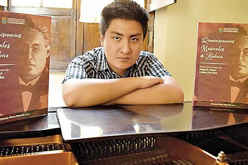 Libro de Miguel Ángel Valda recupera 46 manuscritos de obras musicales bolivianas para piano