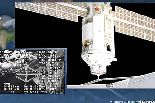Módulo ruso Nauka se acopla con éxito a la Estación Espacial Internacional