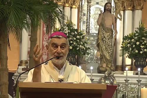 Gualberti: Cristo Resucitado nos llama a ser operadores de la paz y la reconciliación