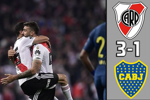 Goles Final River vs Boca Copa Libertadores