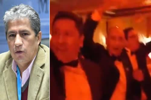 Ministro Novillo sobre el festejo militar sin barbijos: era una 'actividad privada' con 'pocas personas'