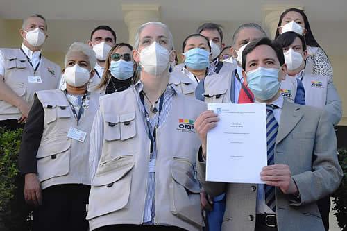 La OEA y Uniore desplegarán misiones para la segunda vuelta en La Paz, Chuquisaca, Pando y Tarija