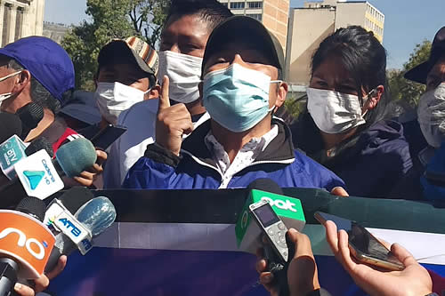 Regional del MAS denuncia que Luis Larrea pretende sabotear campaña de vacunación contra el COVID-19