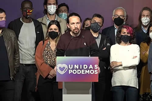 España: Pablo Iglesias deja la política tras derrota electoral en Madrid