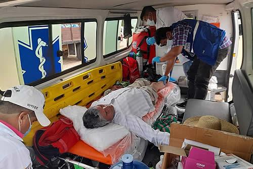 Gobierno posibilita 122 atenciones médicas para indígenas que marchan de Beni a Santa Cruz