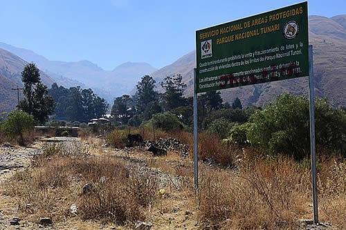 Viceministro dice que unas 83 mil familias invadieron y viven en la reserva del Parque Nacional Tunari