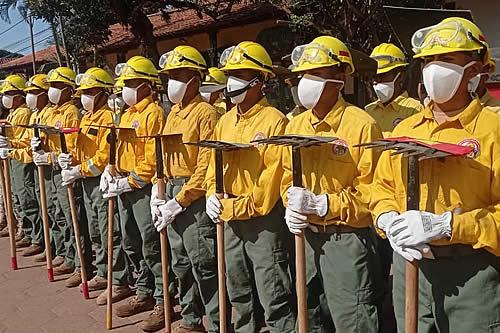 Despliegan casi 2.000 personas para patrullar y prevenir incendios en la Chiquitanía de Santa Cruz