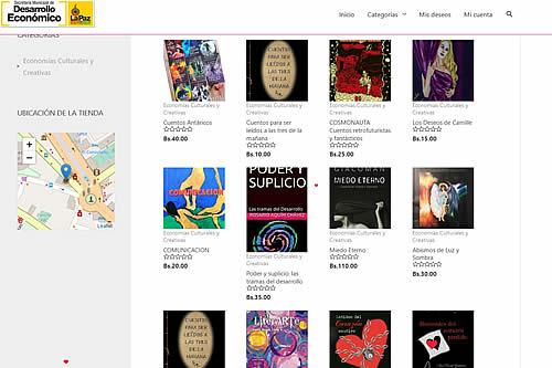 Más de 100 títulos de autores nacionales pueden comprarse a través de El Qhatu del libro
