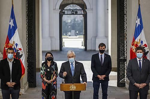 Piñera hace un nuevo intento para evitar el tercer retiro del 10% de las APF's