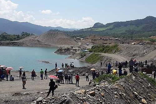 Indígenas de Pilcol advierten con aplicar justicia propia en conflicto minero aurífero