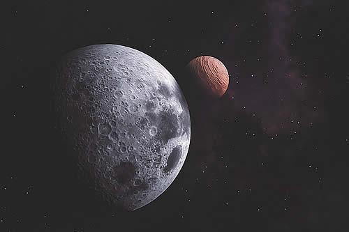 Astrónomos detectan primer disco con forma de luna alrededor de mundo extraterrestre