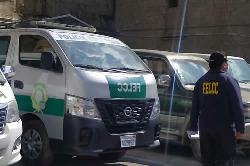 Cuatro ladrones de celulares fueron aprehendidos por la Policía en el centro de La Paz