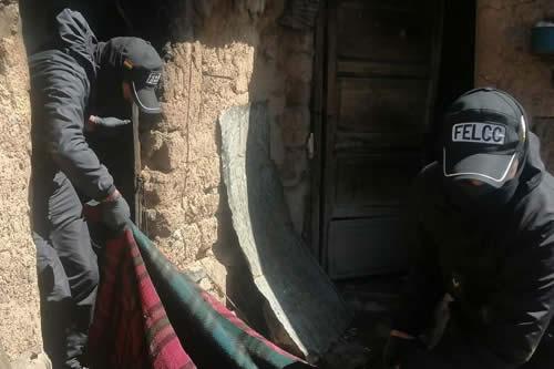 Fallece una mujer de 90 años en el incendio de su casa en el Norte de Potosí