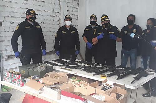 Desarticulan en Perú una banda de bolivianos que traficaba droga en tres países
