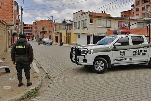 Delincuentes armados roban remesa de empresa importadora de vehículos en El Alto