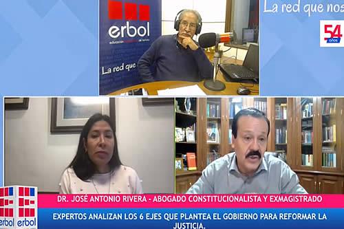 Perfilan un referendo popular para cambiar CPE y la justicia; los 6 ejes del gobierno son parche, dice Rivera