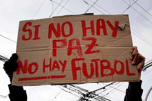 Futbolistas colombianos piden suspender los partidos y solicitan al gobierno de Duque que atienda los reclamos de los manifestantes