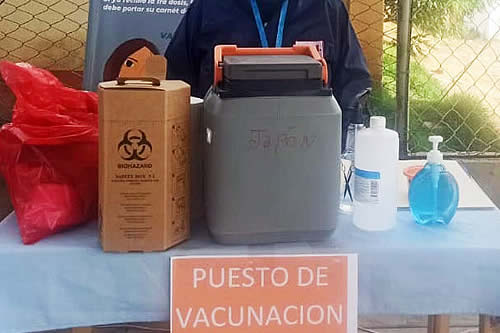 Chuquisaca: Unas 7 mil dosis de la vacuna AstraZeneca expiran el 31 de octubre