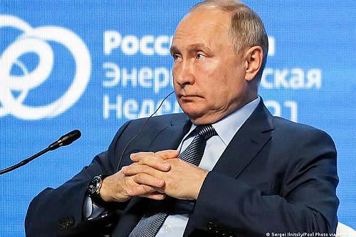 Putin asegura que Rusia alcanzará la neutralidad de carbono en 2060