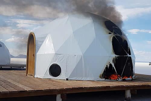 Empresa afectada por la quema de domos: 'Se desprestigió de manera irremediable la imagen del Salar'