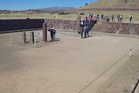 Unos 400 efectivos entre militares y policías resguardarán Tiwanaku el 21 de junio