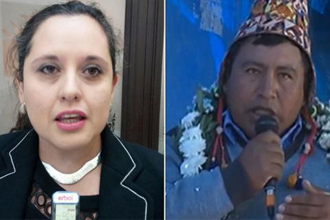 Diputada denuncia a dirigente por instigar a delinquir y racismo