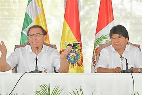 Morales y Viscarra hablarán de gas, energía y tren bioceánico en reunión bilateral del 26 de mayo en Lima