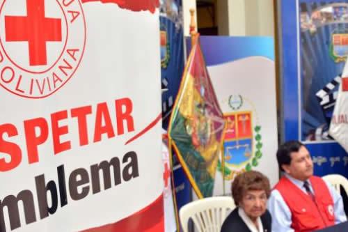 Morales agradece trabajo de voluntarios de la Cruz Roja en su 102 aniversario
