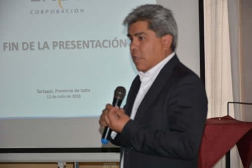 ENDE inicia construcción de línea de transmisión eléctrica en territorio argentino